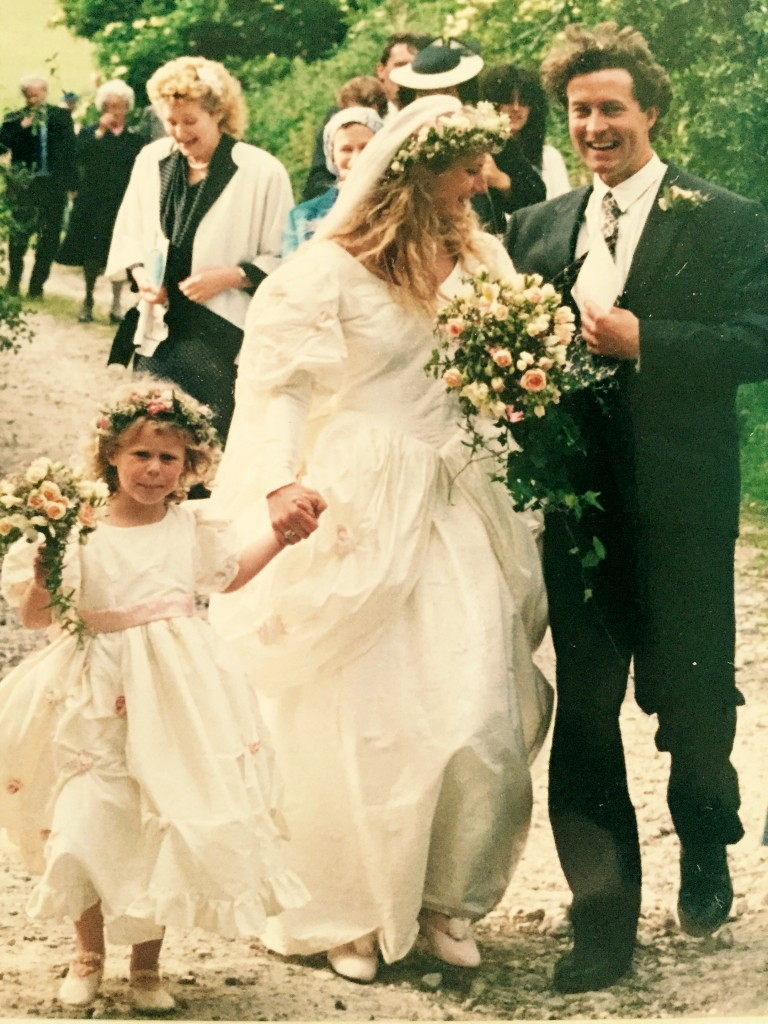 The First Vintage Wedding At Upwaltham Barns