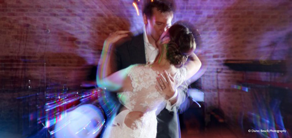 Newlywed First Dance - Barn Wedding Receptions