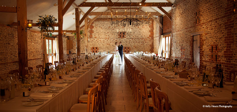 The South Barn Wedding Reception