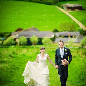 Enjoy a countryside wedding at Upwaltham Barns in Sussex