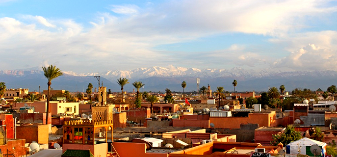 Marrakech Scenery