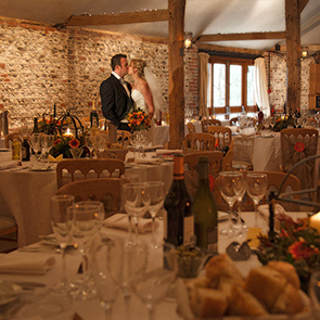 Kirsty and Gary's Autumnal Wedding at Upwaltham Barns