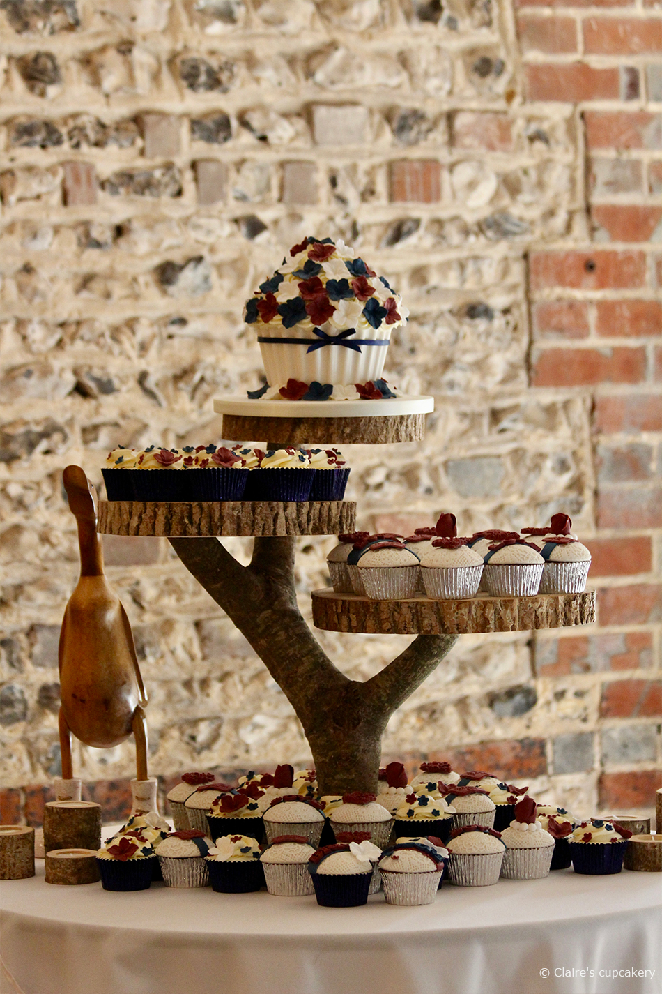 Cupcake Wedding Cake Wedding Cake Designs Wedding Cake Ideas