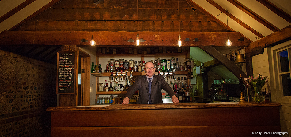 Let the bar man serve you and your wedding guests some drinks both before and after your wedding ceremony