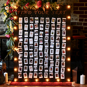 Please Be Seated – Wedding Table Plan Ideas at Upwaltham Barns