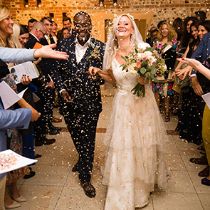 Emerald & Irvine's Fabulously Floral Autumn Wedding at Upwaltham Barns