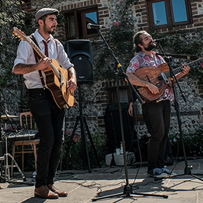 A Guide To Planning Your Wedding Music at Upwaltham Barns
