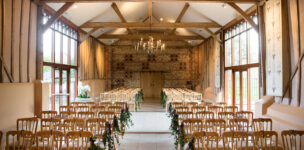 West Sussex barn wedding venue